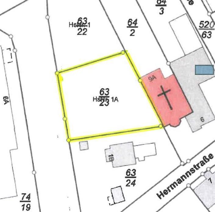 Lageplan Bahnhofstraße - Lamspringe