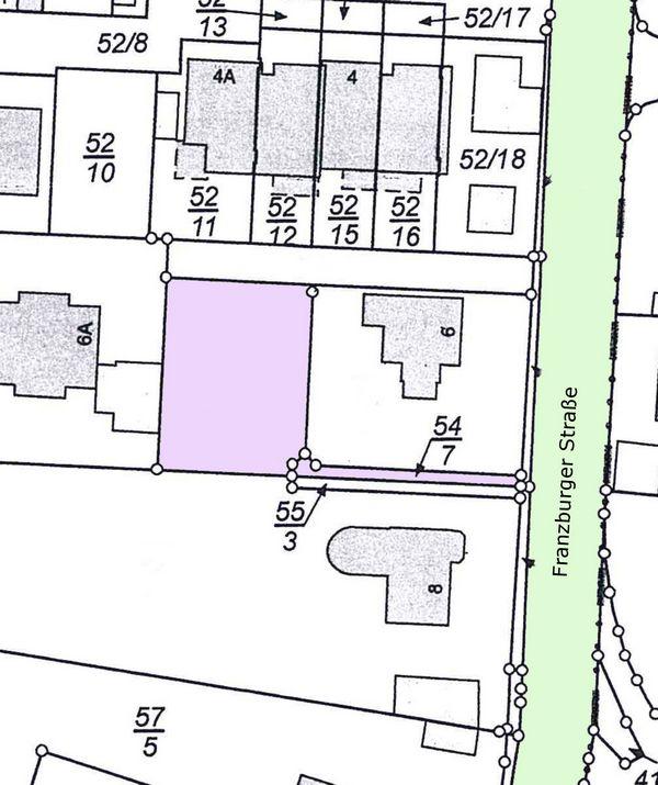 Lageplan Franzburger Straße 6 - Gehrden