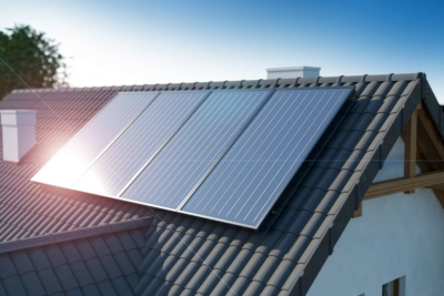 Photovoltaikanlage auf einem Haus