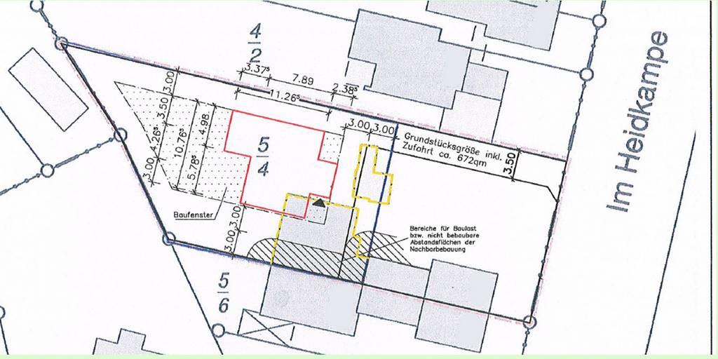 Lageplan - Hannover-Bothfeld Im Heidkampe 127 (002)