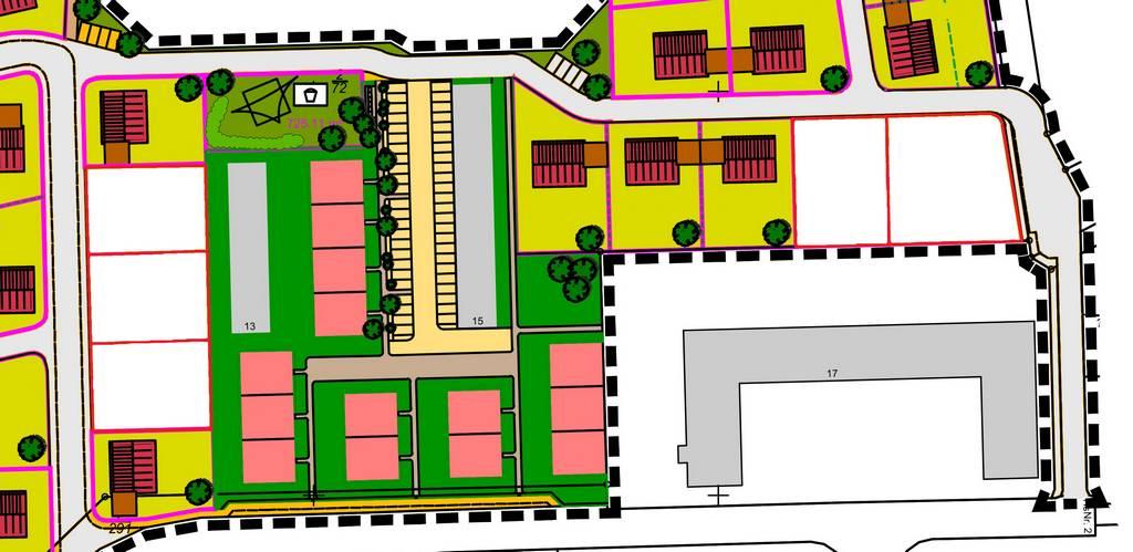 B-Plan Grundstückseinteilung - Ausschnitt (003)